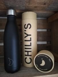 Chilly's Bottle 500ml Black matte
