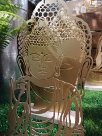 Zittende boeddha goud
