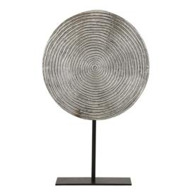 Ornament Rawas nikkel hoogte 38cm