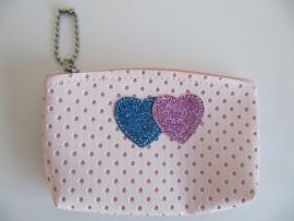 Kinder portemonnee licht roze