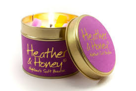 Geurkaars Lily-Flame Heather & Honey