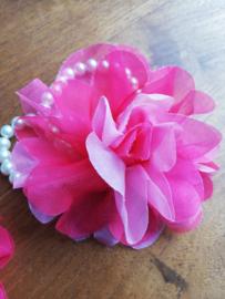 Armband parel roze