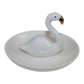 Plate Swan