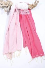 Fouta Splash baby pink