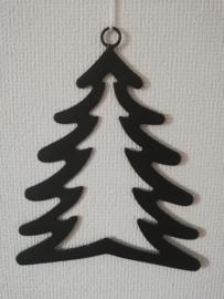 Zwart metalen hanger