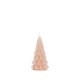 Rustik Lys kerstboom kaars blossom