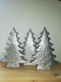 Kerstboom steen zilver 30cm