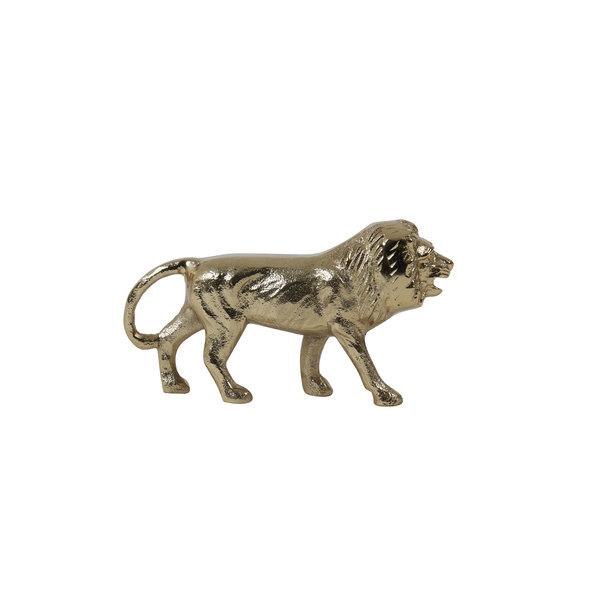 Ornament leeuw goud