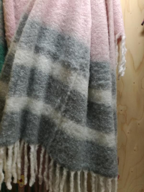 Zachte deken roze