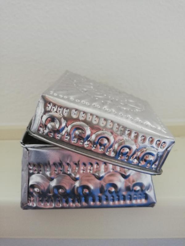Aluminium bakje Ibiza style