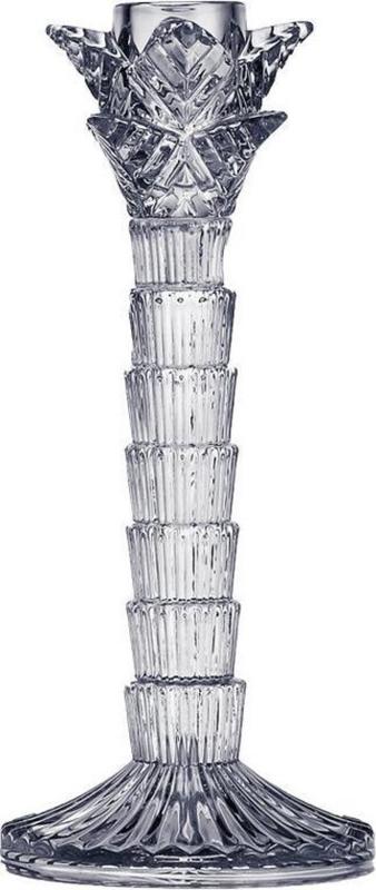 Kandelaar palmboom glas 21cm