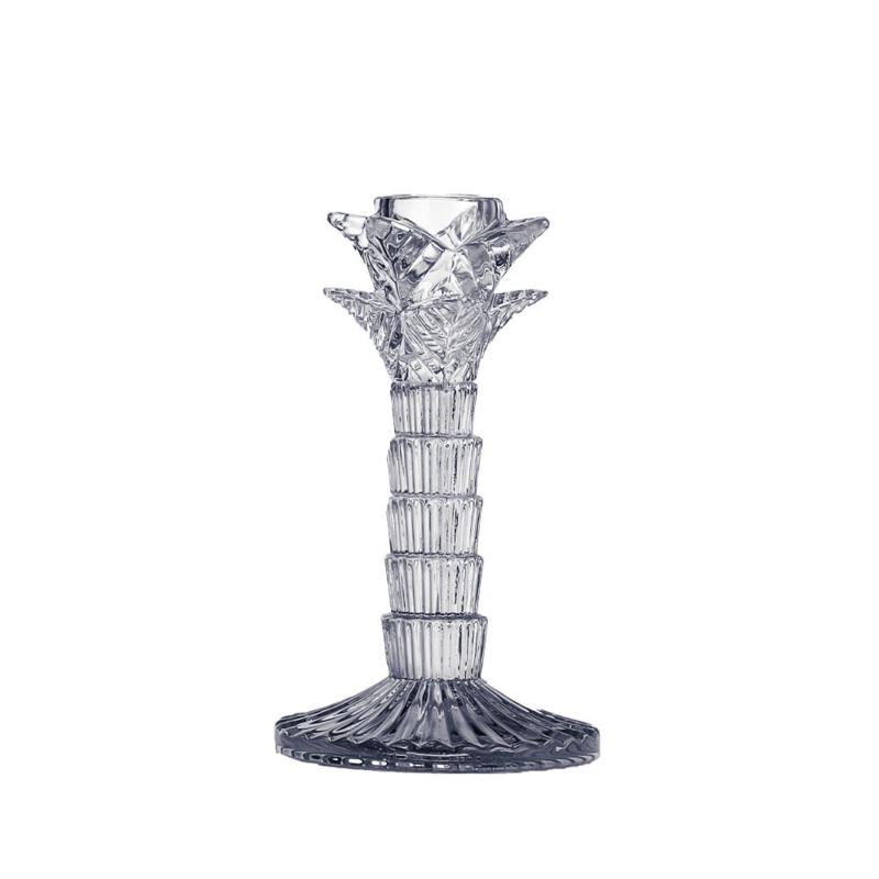 Kandelaar palmboom glas 16cm