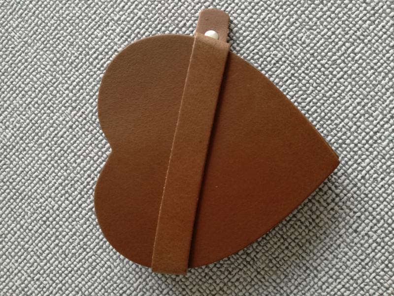 Onderzetters bruin