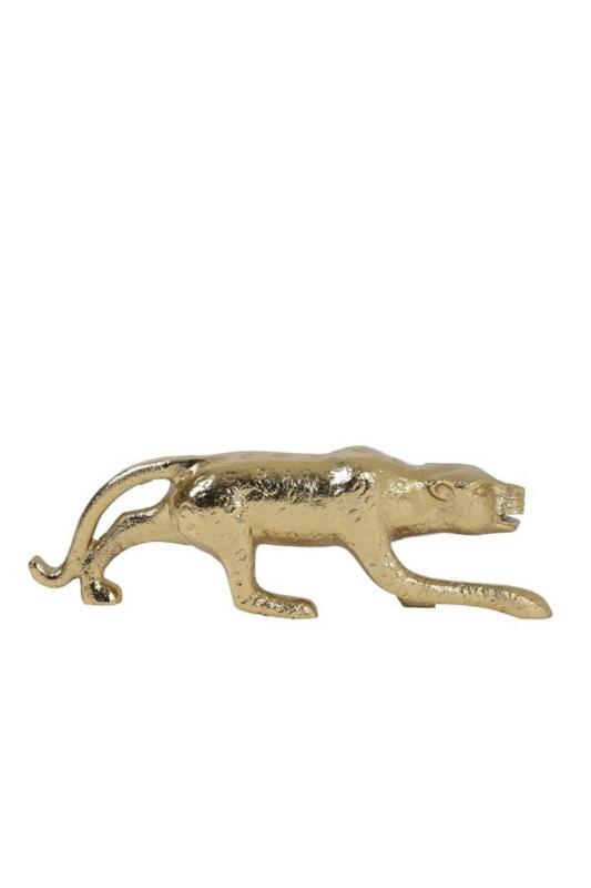 Leopard ornament goud