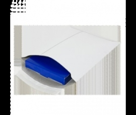 Verzendenvelop golfkarton wit 235x240x30mm