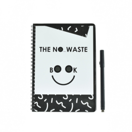 The no (time to) waste book
