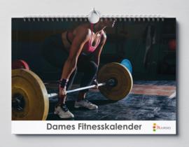 Huurdies - Damesfitness kalender 35x24cm (verjaardagskalender)