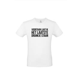 Luxe spreuken t-shirt - voortaan