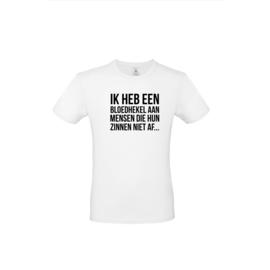Luxe spreuken t-shirt - ik heb een hekel