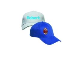 Caps geborduurd  tot max. 12 kleuren
