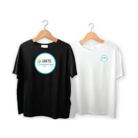 T-shirts eenzijdig  bedrukt