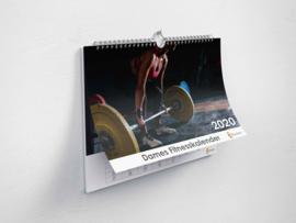 Huurdies - Dames fitness kalender A4 (2020)
