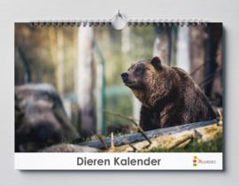 Huurdies - Dieren kalender 35x24cm (verjaardagskalender)