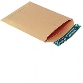 Verzendenvelop massief karton 167x240x30mm
