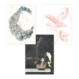 A5 Art Print | Set van 3 | Set 09