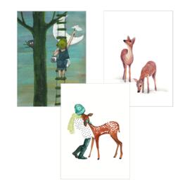 A5 Art Print | Set van 3 | Set 08