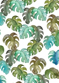 A5 Art Print | Tropical Leaves