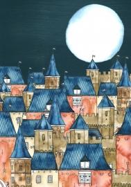 Art Print | City by Night