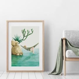 Art Print | Hammock