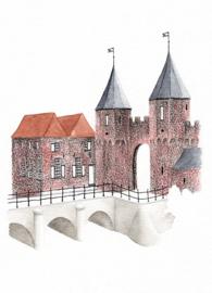 Postkaart | Amersfoort Volmolen/Koppelpoort
