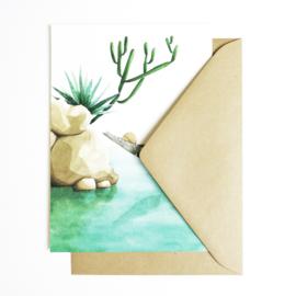 A5 Art Print | Hammock