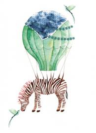 Postkaart | Circus Zebra
