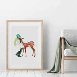 Art Print | Fawn