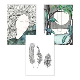 A5 Art Print | Set van 3 | Set 02