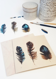 Set Feathers | Set van 3