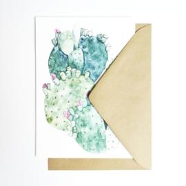 A5 Art Print | Cactus Green