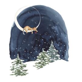 Postkaart   Winter Bellen