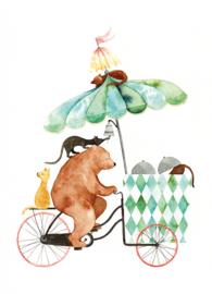 Postkaart | Circus IJsbeer