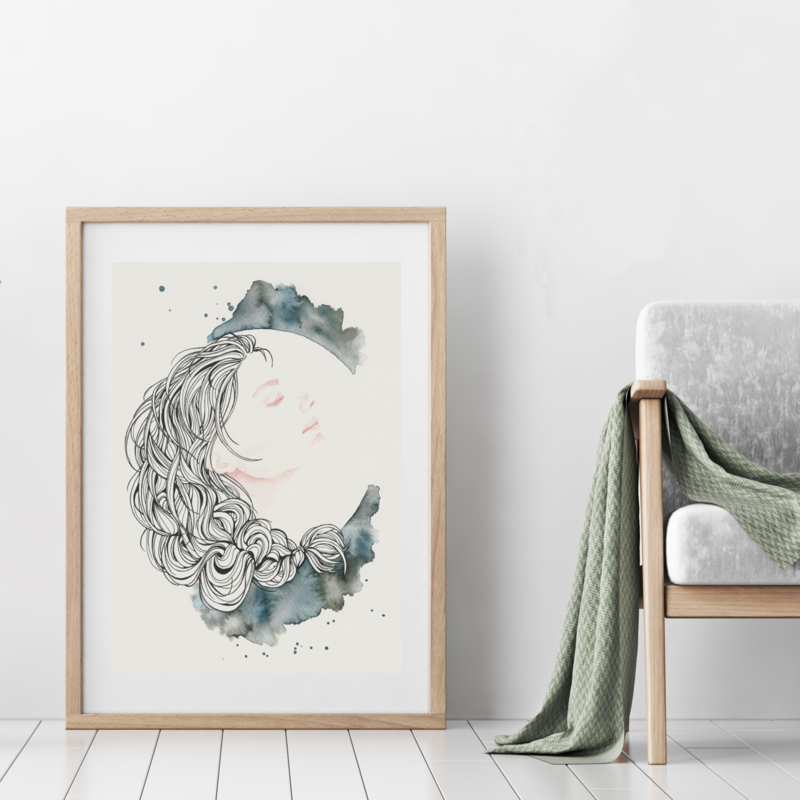 Art Print | Full Moon Muse