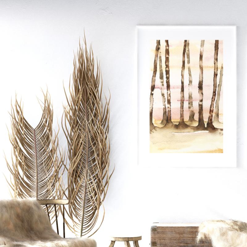 A3 Art Print | Forest