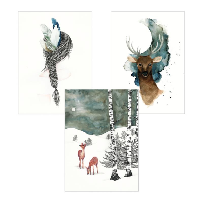 A5 Art Print | Set van 3 | Set 04