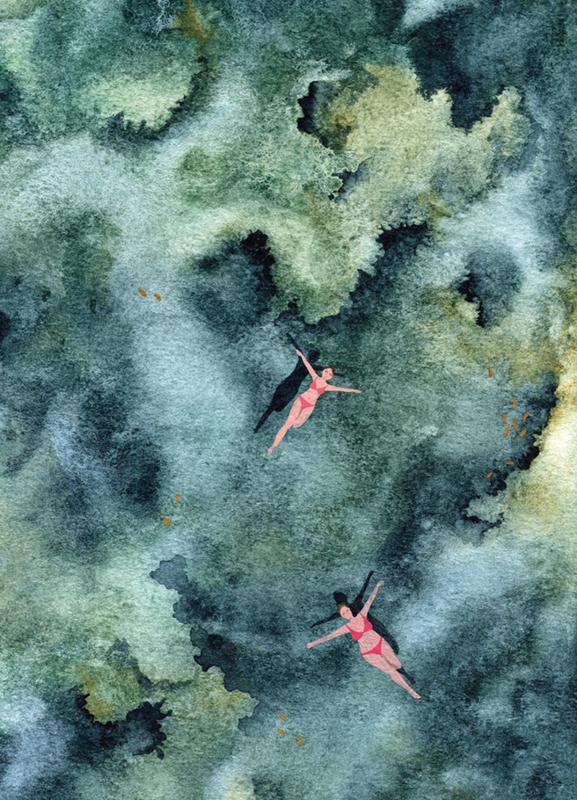 Postkaart | Blue Reef