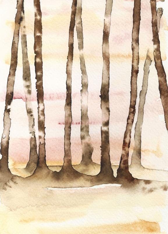 A5 Art Print | Forest