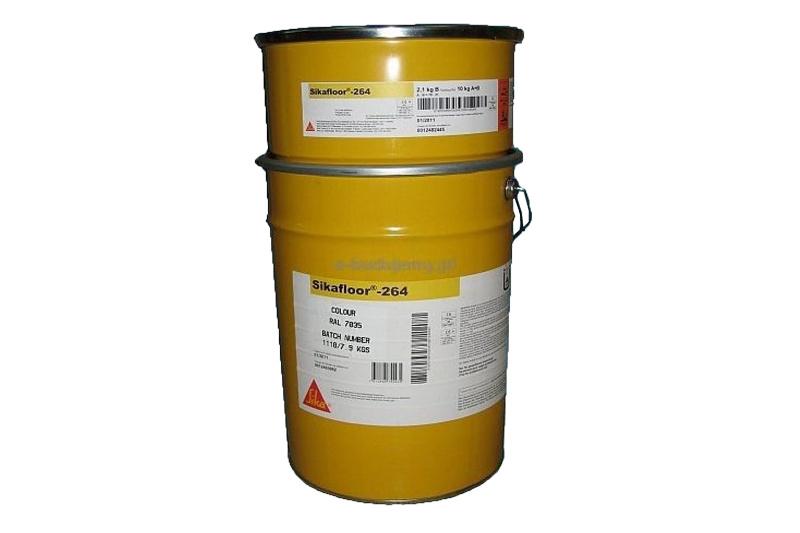 Sikafloor®-264 - STANDAARD en PASTEL RAL-kleuren - 30 KG