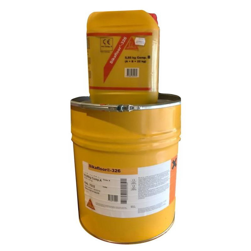 Sikafloor®-326 - RAL 7032 - 22 KG