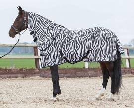 Harry's Horse Vliegendeken Zebra met afneembare hals